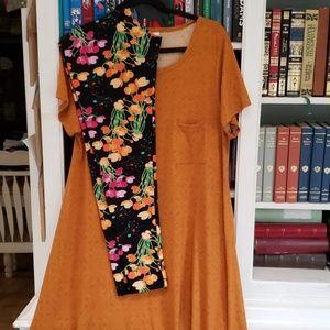 Lularoe Carly Outfit